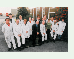 picture of Grotech Production staff from 2003