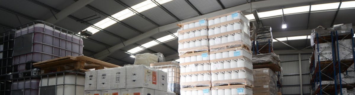 warehouse full of finished manufactured products