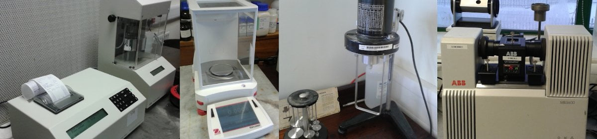 pictures of various pieces of lab equipment