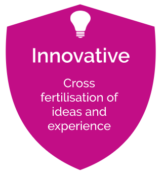 cross fertilisation of ideas and experience