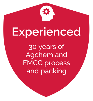 30 years of agchem and fmcg process and packing