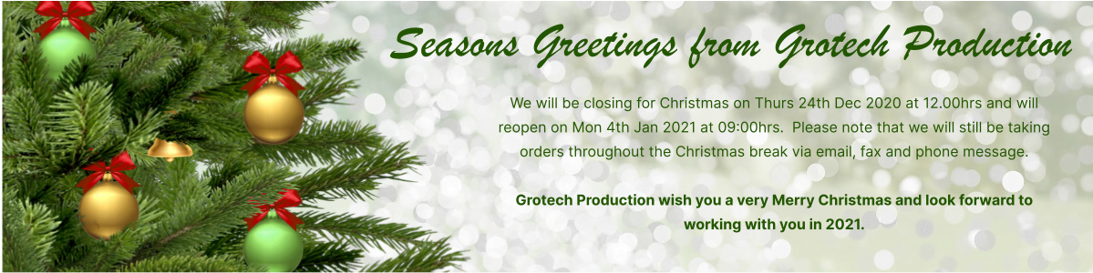 seasons greetings from grotech production