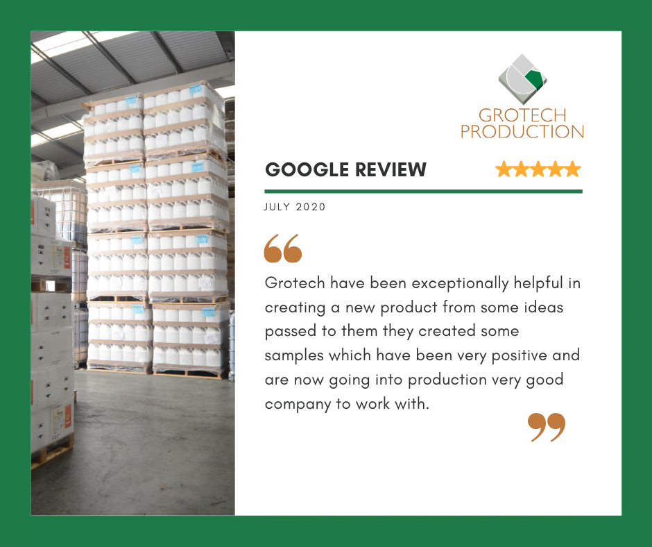 a 5 star google review from one of our customers
